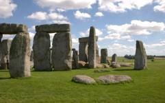 pierres Stonehenge soleil